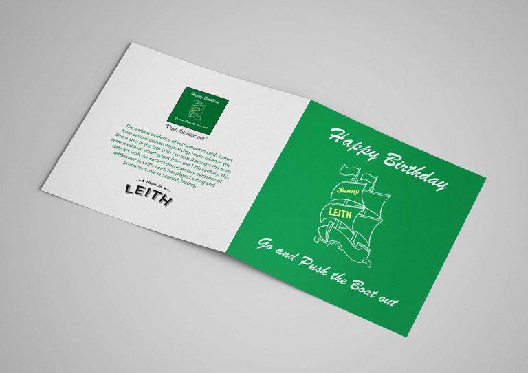 Card - Birthday Boat Green