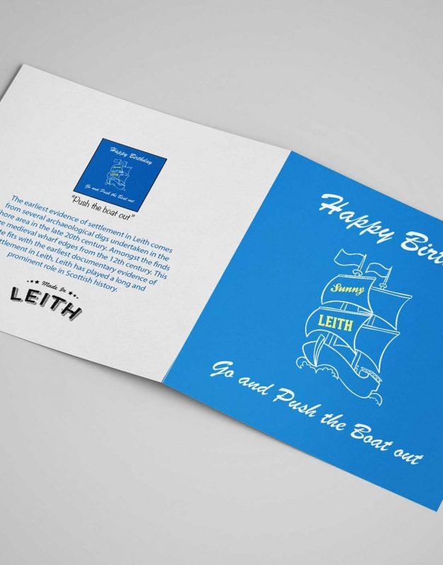 Card - Boat Birthday