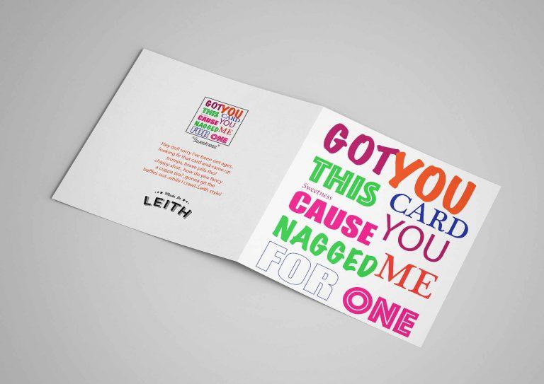 Card - Card Sweet