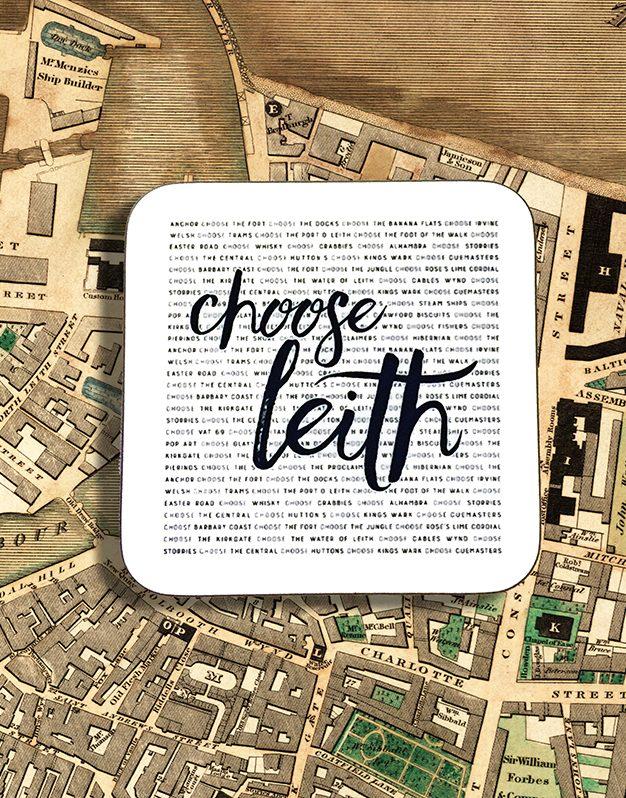 Coaster - Choose Leith