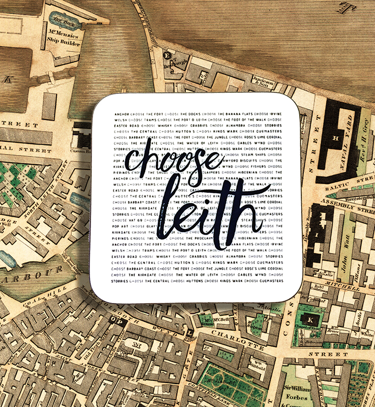 Coaster - Choose Leith