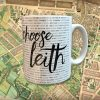 Choose Leith Mug Cut Out