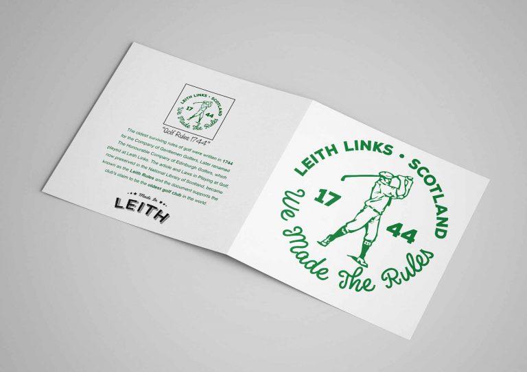 Card - Golf Card