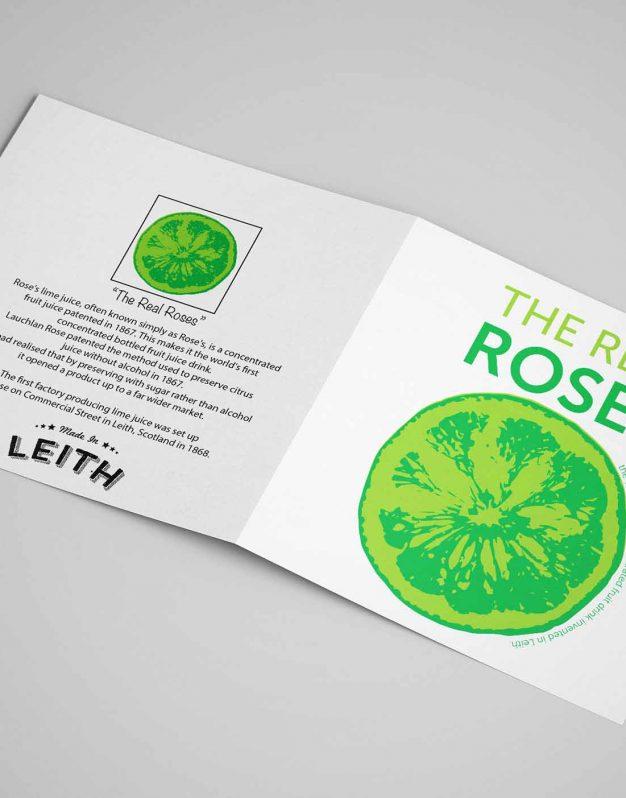 Card - Real Roses